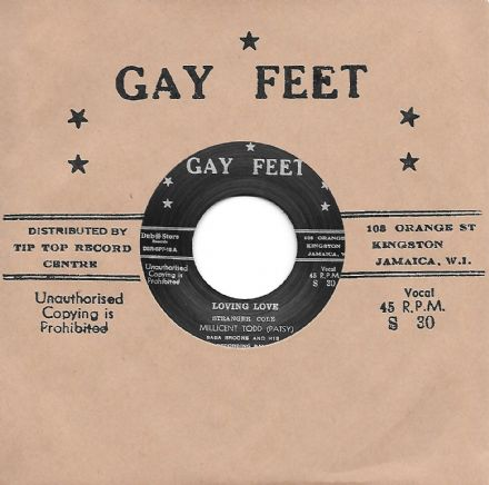 Milicent Todd (Patsy) - Loving Love / alternative take (Gay Feet / Dub Store Records) JPN 7""